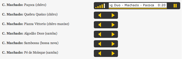 Using WP-Table Reloaded and Audio Player Plugins to Play Your Music