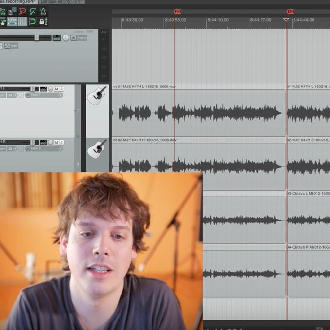 New Guitarise Episode – Editing Classical Guitar in Reaper