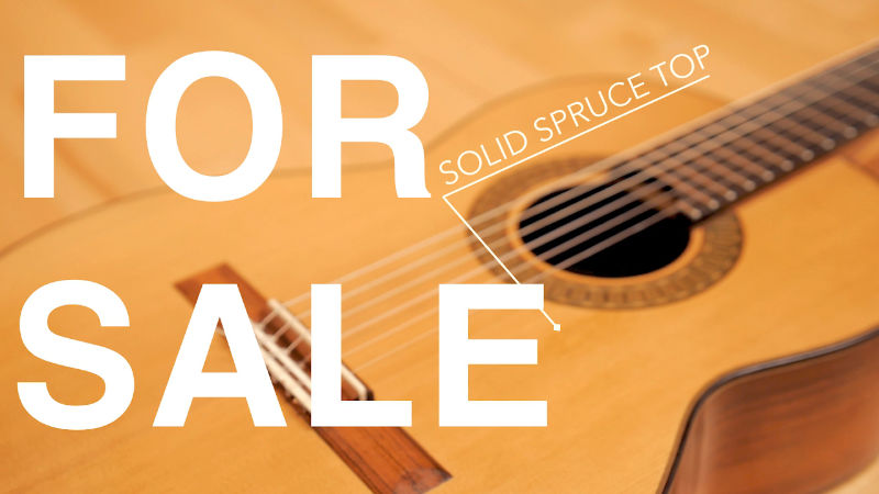 Selling my Bernd Holzgruber spruce top guitar (SOLD!)