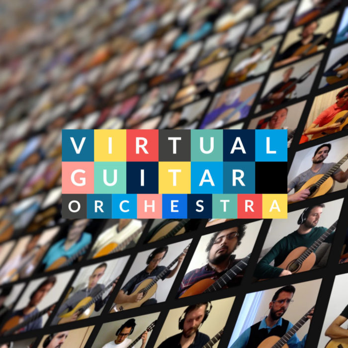 Virtual Guitar Orchestra #1